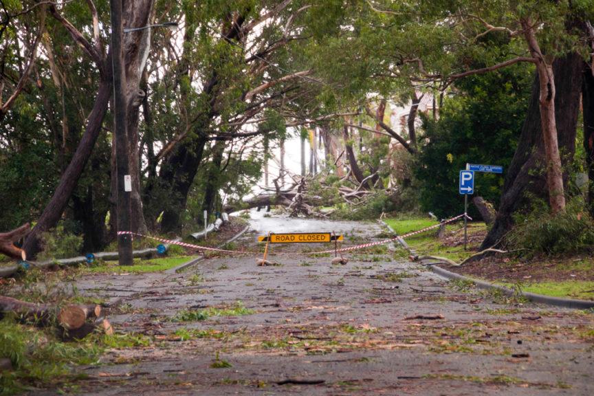 2015 Halifax CP storm damage