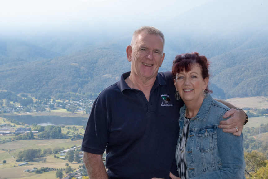 Mt Beauty valley - handsome couple