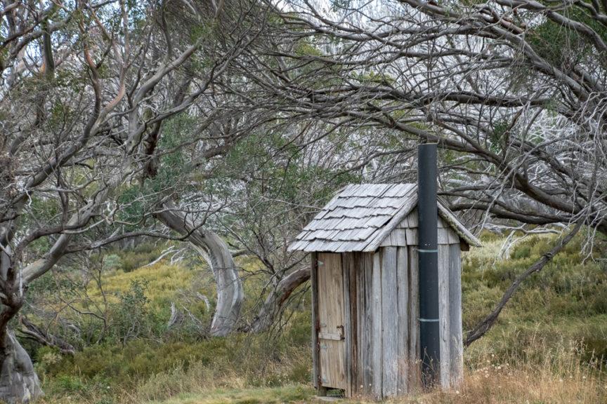 Wallaces Hut dunny