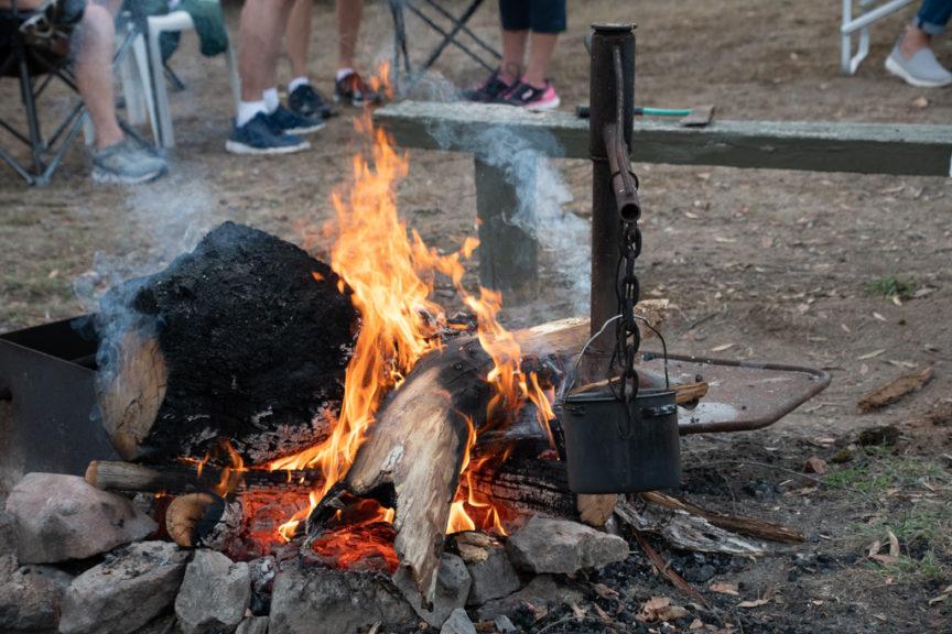 Victoria Falls campfire