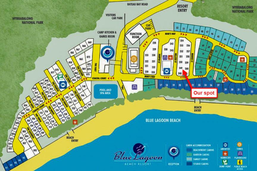Blue Lagoon CP Bateau Bay