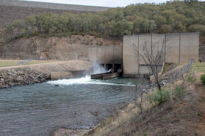 Blowering Dam Power Station
