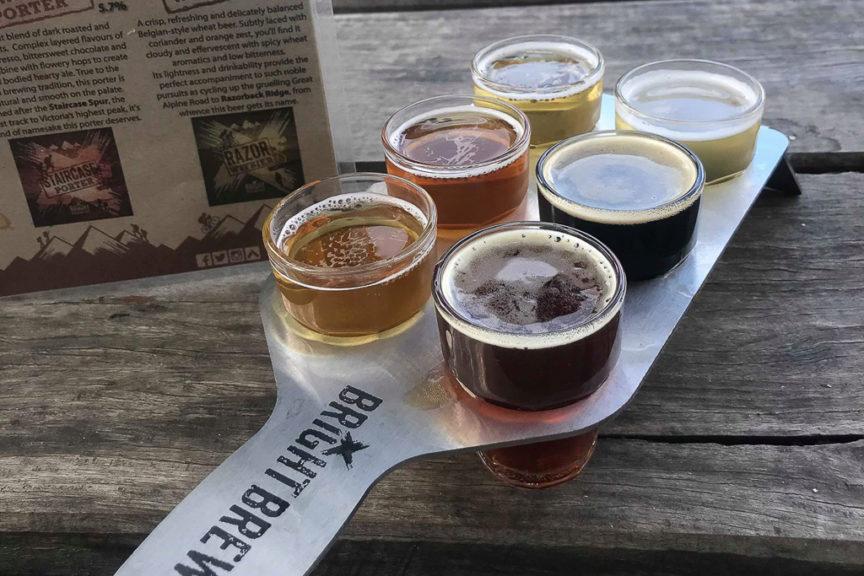 Bright Brewery Sampling