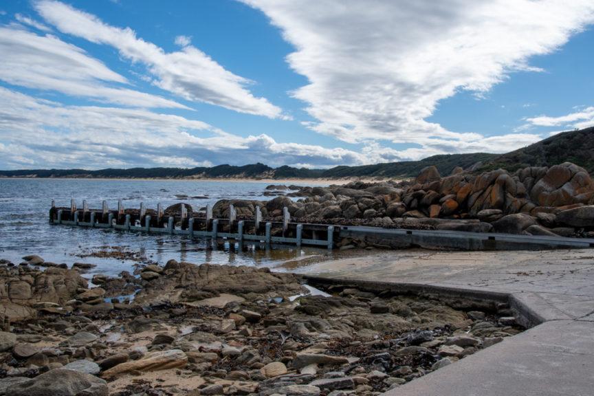 Salmon Rocks boat ramp