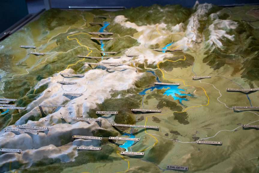 Model of Snowy Hydro Scheme