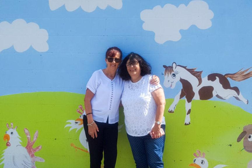 Merrisa & Sharon @ GC Big4 Animal Farm