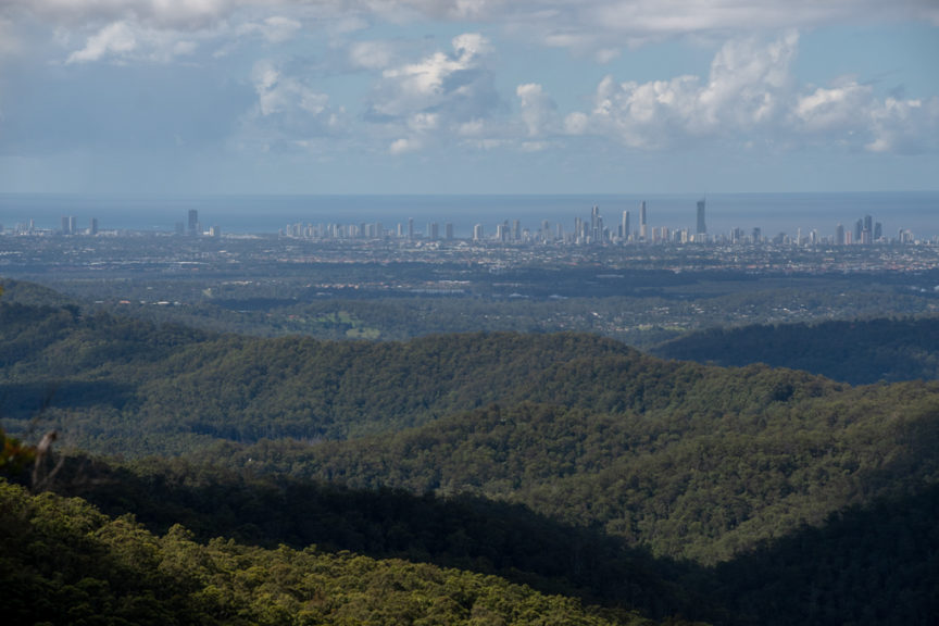 Wunburra Lookout views