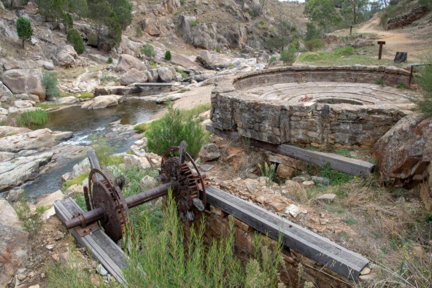 The Buddle - Adelong Falls Gold Mill Ruins
