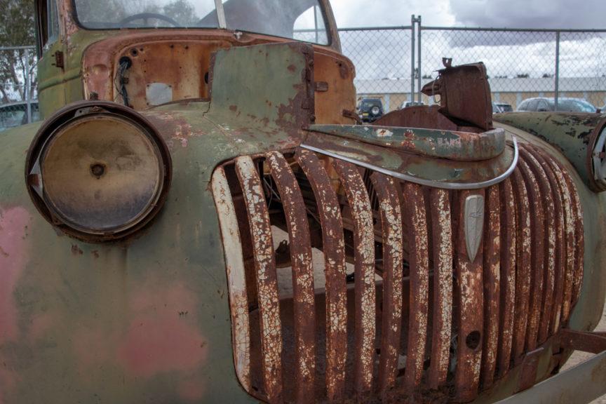 Rustic motor museum