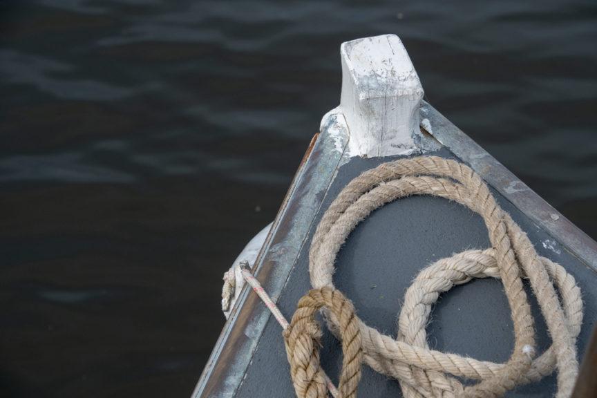 Bow of MV Loch-Ard