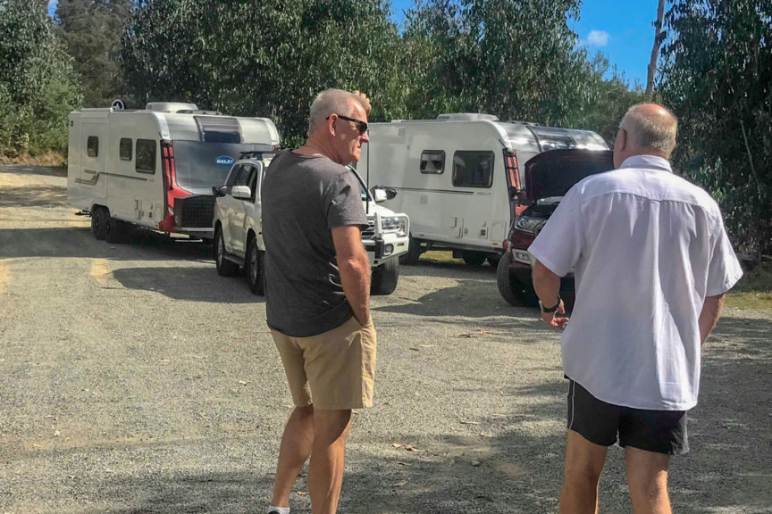 Rest stop on way to Mt Hotham