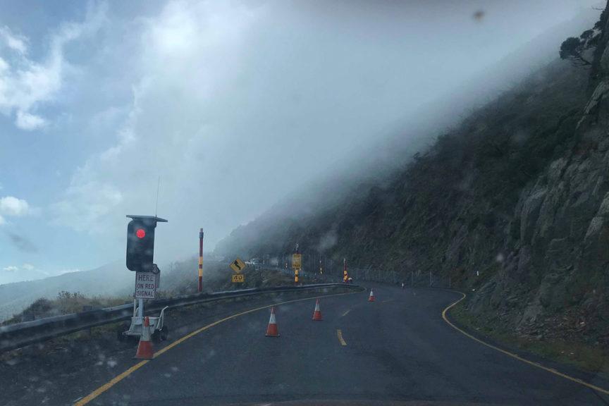 Towards Mt Hotham summit