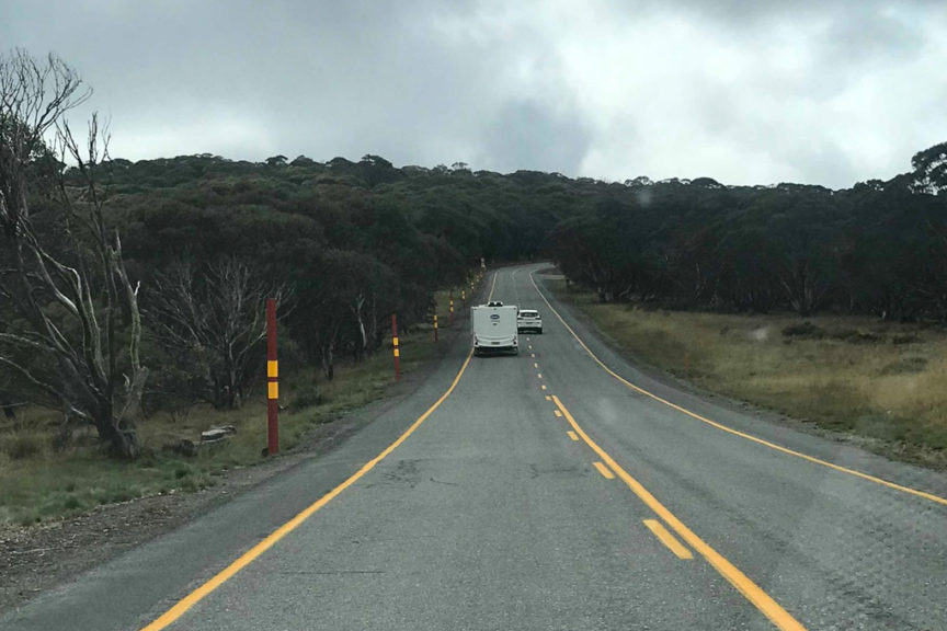Heading down from Mt Hotham