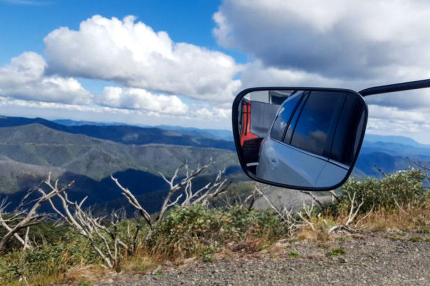 Roadtrip over Mt Hotham
