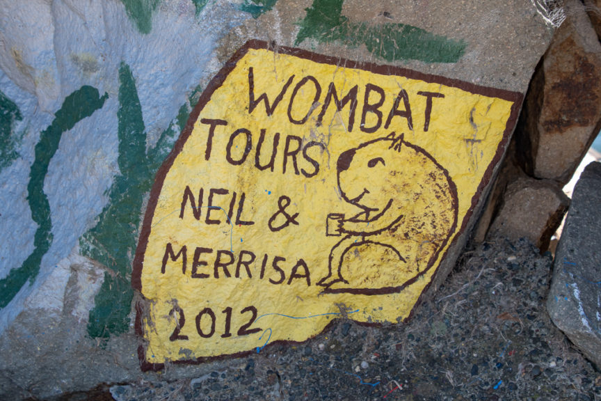 2012 Wombat Rock Art