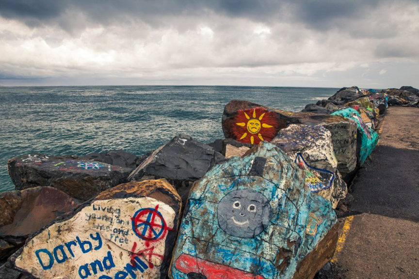 Breakwall Rock-art