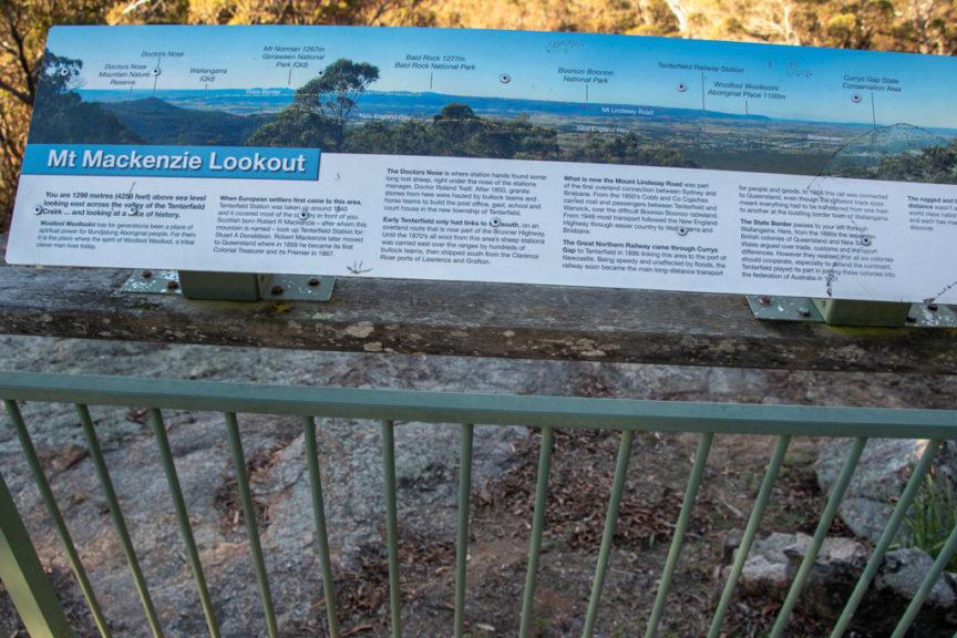 Mt Mackenzie Lookout